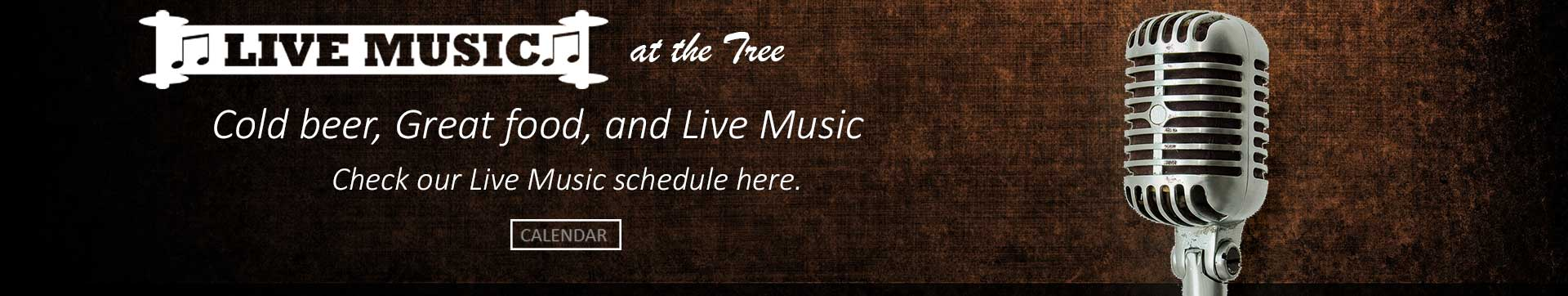 Live Music at the Shade Tree