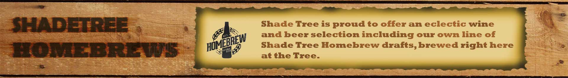 ShadeTree HomeBrews